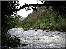 SH5946 : Afon Glaslyn in full flow by Kenneth Yarham