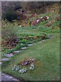 NY3407 : Back garden at Dove Cottage by Darrin Antrobus
