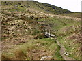 SD9233 : Footbridge on the round the reservoir walk (Widdop Reservoir) by Alexander P Kapp
