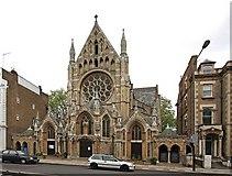 TQ2479 : St John the Baptist Church, Holland Road, London W14 by John Salmon