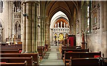 TQ2479 : St John the Baptist Church, Holland Road, London W14 - South aisle by John Salmon