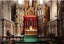 TQ2479 : St John the Baptist Church, Holland Road, London W14 - Sanctuary by John Salmon