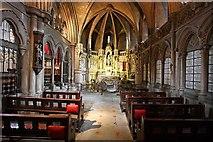 TQ2479 : St John the Baptist Church, Holland Road, London W14 - South chapel by John Salmon
