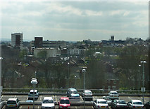 SU8651 : Looking south from the Aldershot Centre for Health by Chris Gunns
