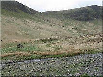 NT1513 : Cairn in Carrifran Glen by M J Richardson