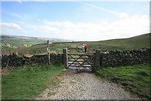 SK2081 : Bridleway on Offerton Moor by Bob Jenkins
