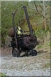 SK3455 : Old tar boiler, Crich Tramway Village by P L Chadwick