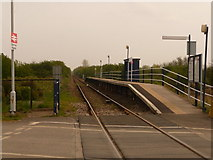 TA0623 : Barrow Haven: the railway station by Chris Downer