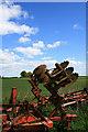 SK4338 : Farm Machinery at Burnwood by David Lally