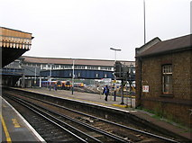 TQ2775 : Platforms 7 & 8, Clapham Junction Railway Station SW11 by Robin Sones