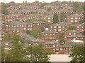 SK3787 : Sheffield: hillside housing by Chris Downer