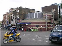 TQ3279 : Borough Underground Station, Borough High Street SE1 by Robin Sones