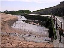 SS2006 : Stream Summerleaze Beach, Bude by Tom Jolliffe