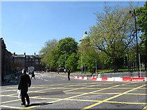 NT2473 : Looking west on Charlotte Square, Edinburgh by James Denham
