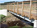 NY5482 : New bridge over Beck Burn by David Liddle