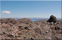 NG4919 : Summit cairn on Sgurr na Stri by John Allan