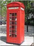 TQ2977 : K2 telephone box by Philip Halling