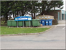 "S9907 : ""Bring centre"" for recycling, Kilmore by David Hawgood"