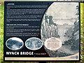 NY9027 : Wynch Bridge by Andrew Curtis