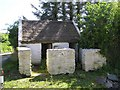 H3696 : Outbuildings, Dergalt by Kenneth  Allen