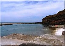 SS2006 : Tidal Swimming pool, Summerleaze beach, Bude by Tom Jolliffe