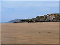 SS2006 : Summerleaze beach, low tide by Tom Jolliffe