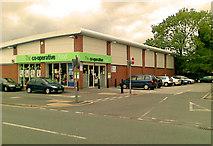 SJ8485 : The Co-Op supermarket,  Finney Lane by Geoff Royle