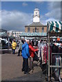 NZ3667 : Market in South Shields by Darrin Antrobus