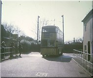 SZ1592 : Bournemouth trolleybus on turntable by David Hillas
