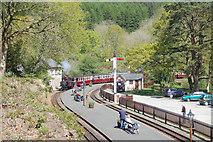 SH6441 : Tan-Y-Bwlch station by John Firth