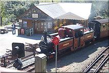 SH6441 : David Lloyd George arrives at Tan-y-Bwlch by John Firth