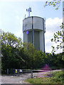 TL3160 : Cambourne Water Tower by Geographer