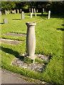 SD5376 : Church of St James, Burton, Sundial by Alexander P Kapp