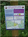 TM3649 : Open Access Sign by Keith Evans
