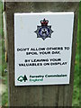 TM3648 : Warning Sign by Keith Evans