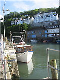 SX2553 : Harbour & Quayside East Looe looking towards West Looe by Dr Duncan Pepper