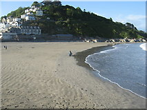 SX2553 : East Looe from the pierhead by Dr Duncan Pepper