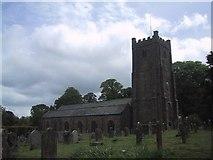 SX7087 : Chagford church by Sarah Charlesworth