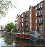 SJ9398 : Canalside Apartments by Gerald England
