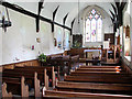 TG3200 : St Ethelbert's church  - view east by Evelyn Simak
