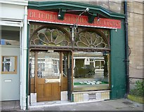 NT2572 : Butchers shop in Marchmont by kim traynor