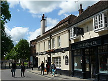 SU4829 : Market Street, Winchester by Peter Trimming