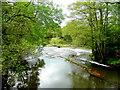 SO4717 : River Monnow 2 by Jonathan Billinger