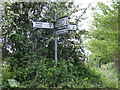 TM3569 : Roadsign on Pouys Street by Adrian Cable