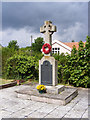 TM3569 : Peasenhall War Memorial at St.Michael's Church, Peasenhall by Adrian Cable