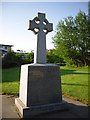 NS7762 : War Memorial in Chapelhall, Airdrie by Stevie Spiers