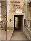 ST6834 : Bruton: Crown Barton by Chris Downer
