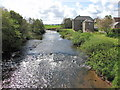 NT9338 : River Till at Heatherslaw by John Tustin