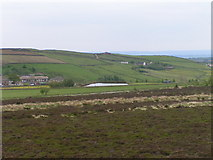 SE0429 : Square Mill Dam from Haigh Cote Dam Wall by Michael Steele