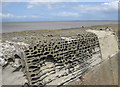 ST0743 : Harbour wall, Watchet by Pauline E